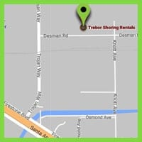 Los Angeles Trench Shoring Rentals