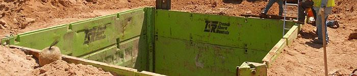 Trench Shoring Rentals