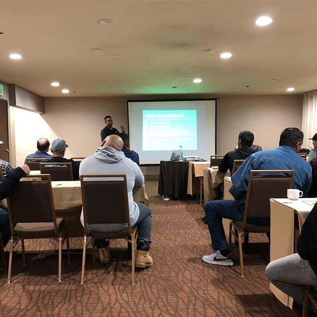 Competent person training being done in Orange County today. We have a dedicated trainer with many years of experience putting on both OSHA approved competent person and confined space training. Come to us or we come to you. #naxsa #treborshoringrentals #trenchshorerentals #trenchshoring #competentperson #competentpersontraining #osha #oshaapproved