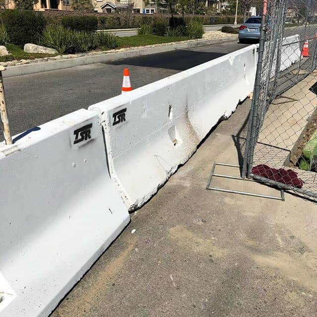 With many drivers distracted with their phones more than ever, we have what you need to keep your work space safe. Concrete K-Rail available in 10' and 20' lengths. Clean, painted and ready to go! Let's keep everyone safe. Better to have a car bounce off a stick than end up at the bottom of the excavation.