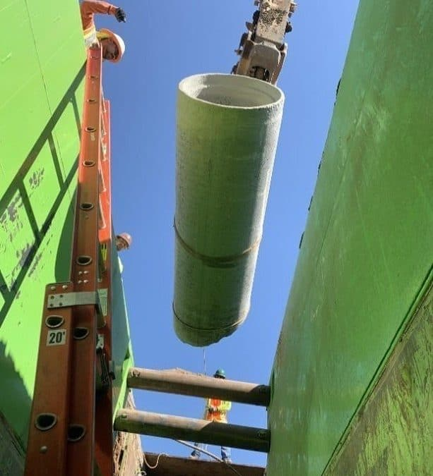 Looking at all that green from the contractor's perspective. Helping you get the production you need day after day. #tsr #treborshoringrentals #trenchshorerentals #trenchshoring #gogreen #trenchshields #undergroundconstruction #pipelayers