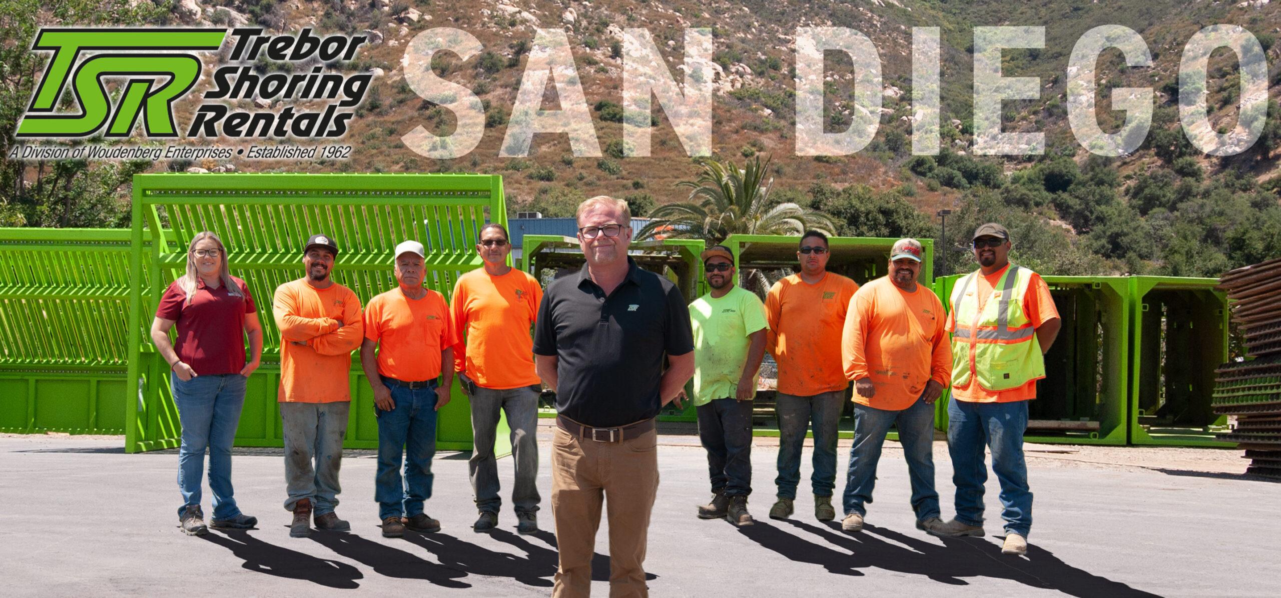 San Diego Trebor Shoring Rentals