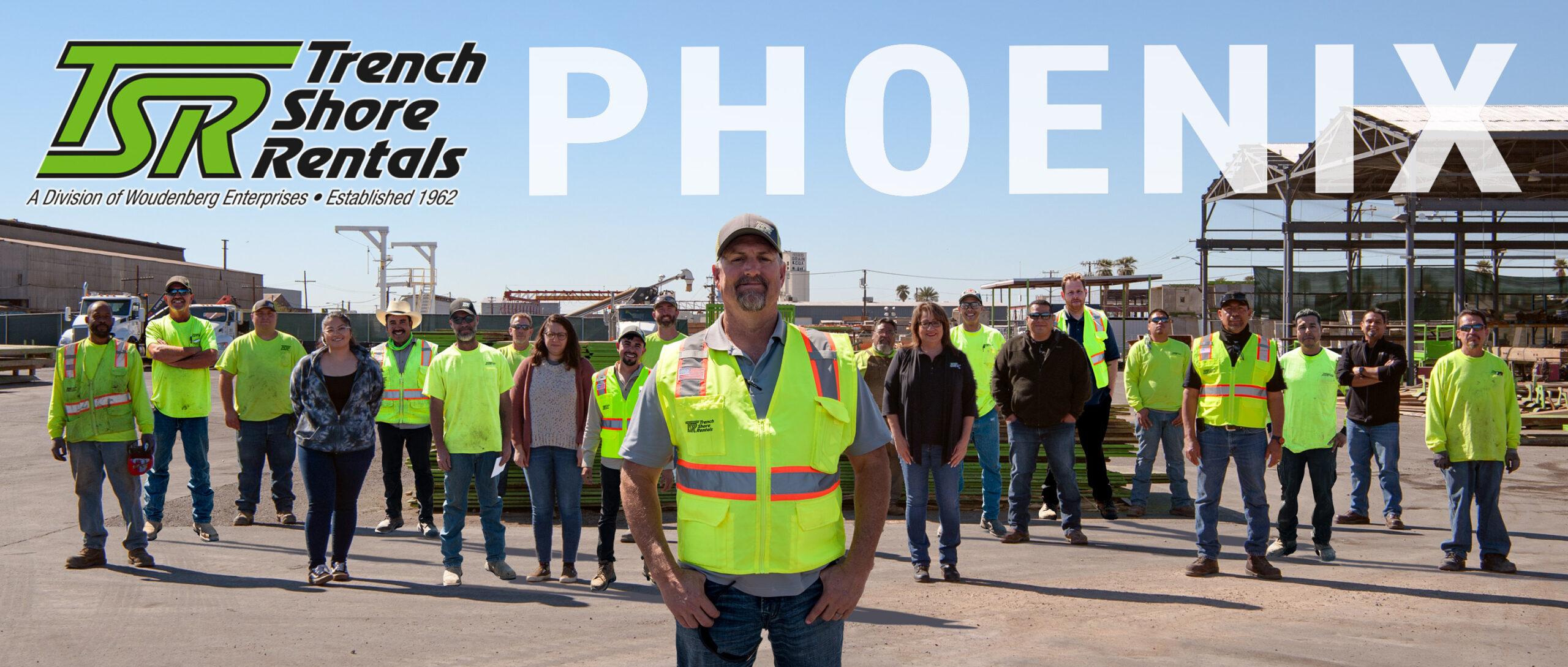 Phoenix Trench Shore Rentals